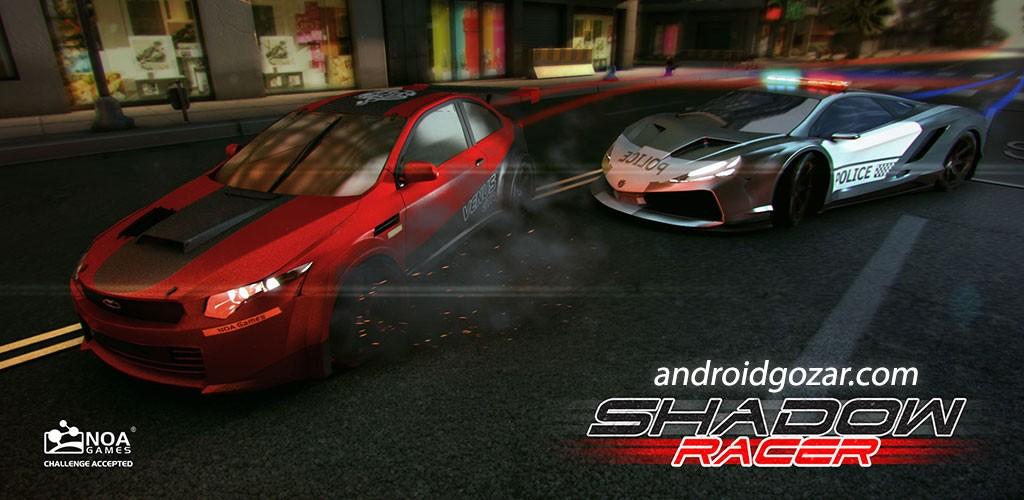 Shadow Racer 1.0.1.0 دانلود بازی ایرانی ماشین سواری مسابقه سایه