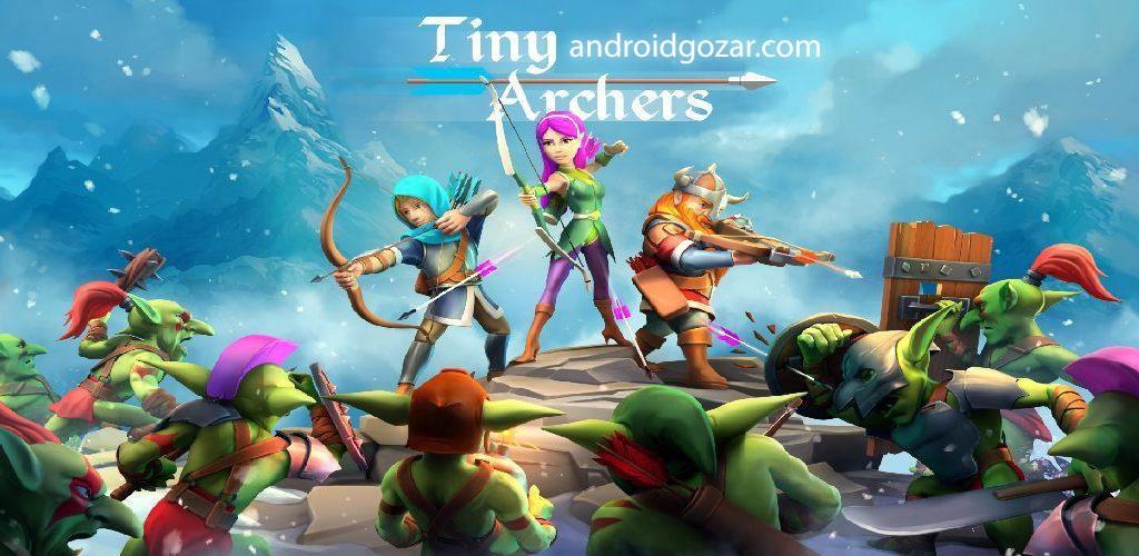 Tiny Archers 1.10.25.0 دانلود بازی کمانداران کوچک اندروید + مود