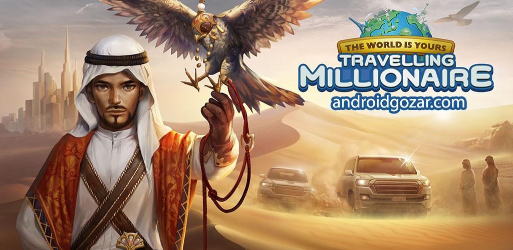 Travelling Millionaire 1.9.1 دانلود بازی مسافران میلیونر اندروید
