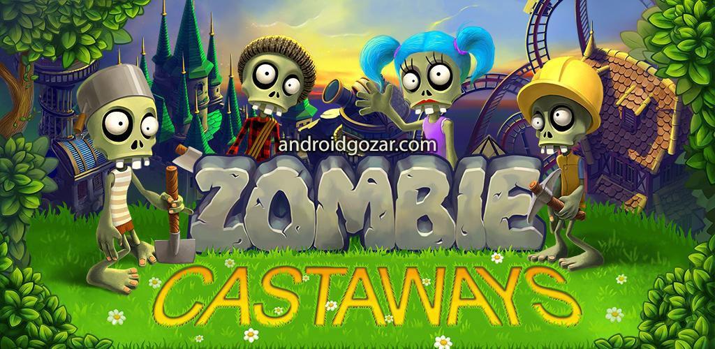 Zombie Castaways 1.9.1 دانلود بازی زامبی رانده شده اندروید + مود