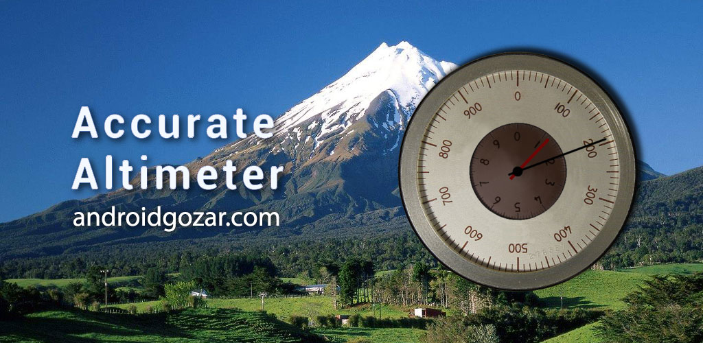 Accurate Altimeter Pro 1.20 دانلود نرم افزار ارتفاع سنج آفلاین اندروید