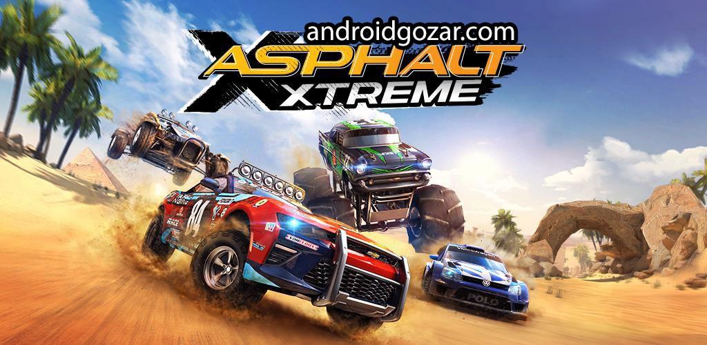 Asphalt Xtreme 1.4.2b دانلود بازی آسفالت اکستریم اندروید + مود + دیتا