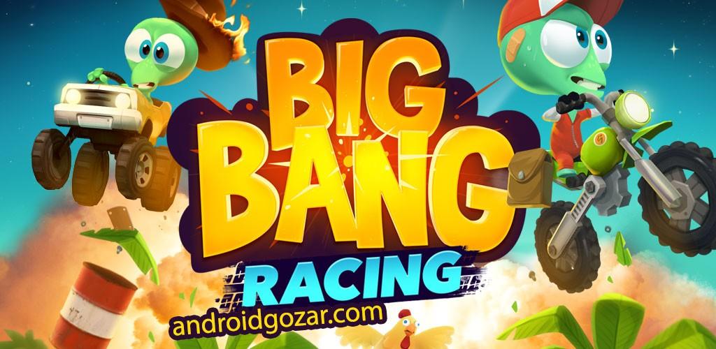Big Bang Racing 3.0.6 دانلود بازی مسابقه موتور سواری اندروید + مود