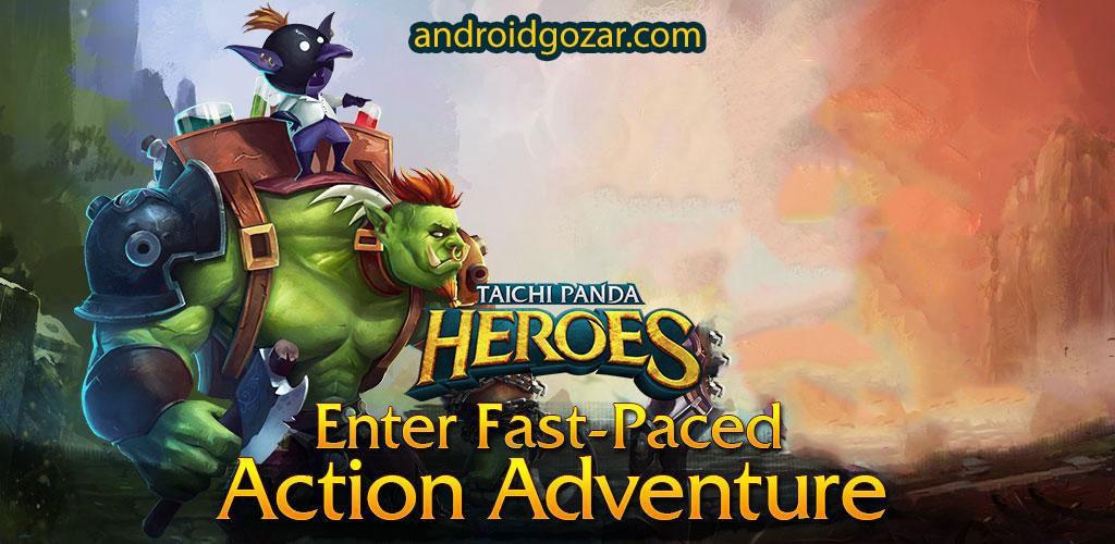 Taichi Panda: Heroes 2.7 دانلود بازی پاندای تایچی: قهرمانان اندروید + مود