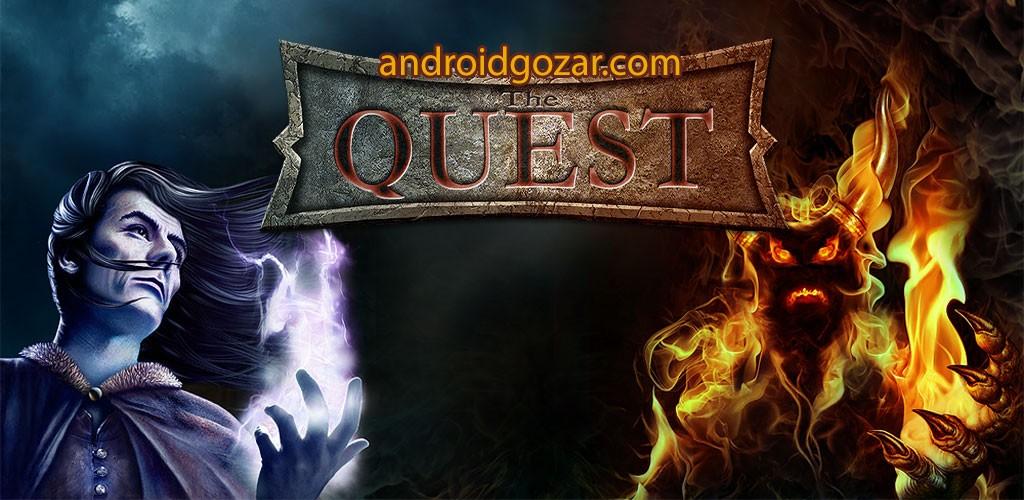 The Quest 2.0.7 دانلود بازی نقش آفرینی تلاش اندروید + دیتا