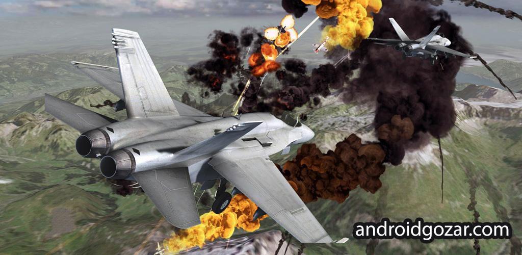 Call of Infinite Air Warfare 1.0.1 بازی ندای بی نهایت جنگ هوایی اندروید + مود