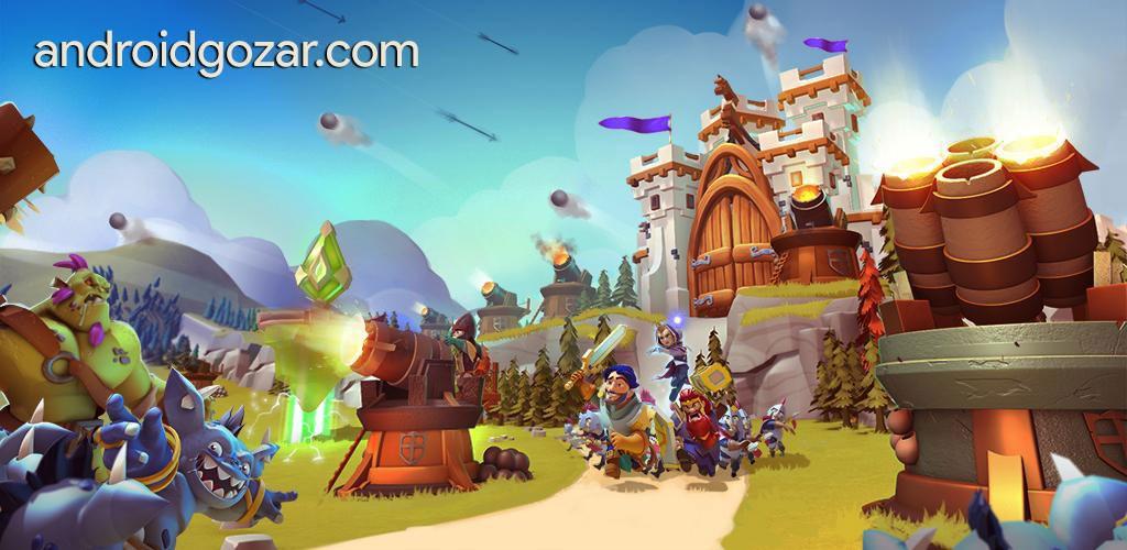 Castle Creeps TD 1.4.0 دانلود بازی دفاع از برج اندروید + مود