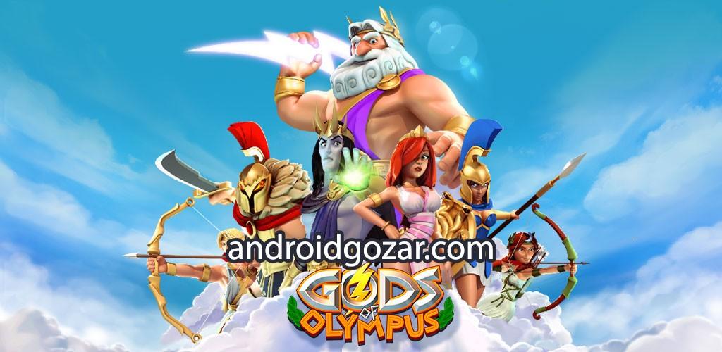 Gods of Olympus 1.10.14414 دانلود بازی استراتژی خدایان المپ اندروید