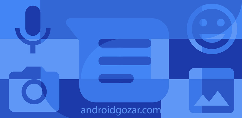 Android Messages 2.1.167 دانلود پیام رسان SMS و MMS گوگل اندروید