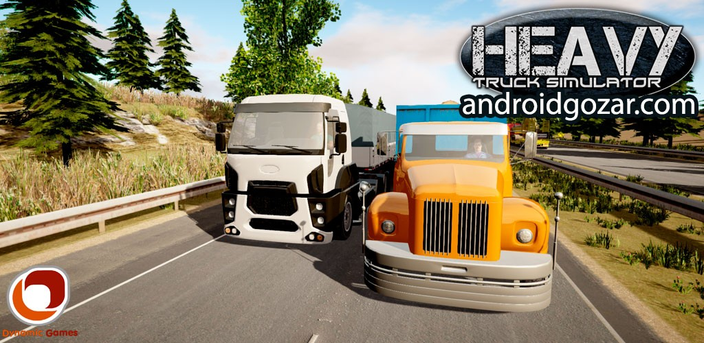Heavy Truck Simulator 1.772 دانلود بازی شبیه سازی کامیون اندروید + دیتا