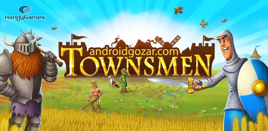 Townsmen Premium 1.9.4 دانلود بازی شهرنشینان اندروید + مود
