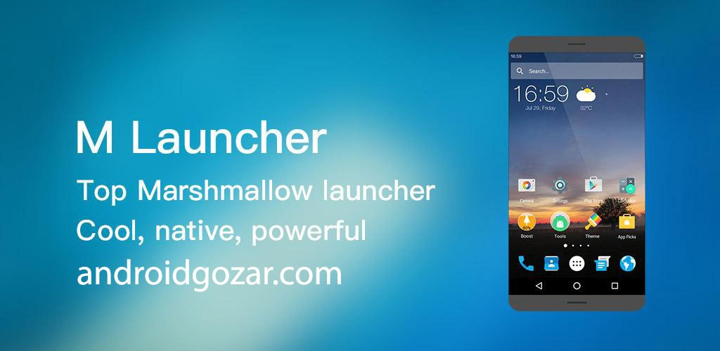 MN Launcher Prime 2.7 دانلود لانچر اندروید 6.0 مارشمالو و 7.0 نوقا