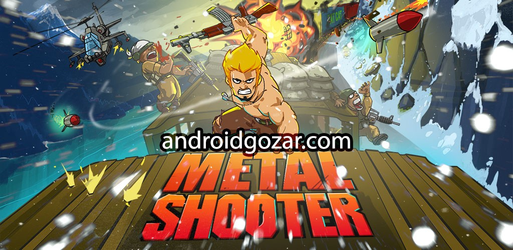 Metal Shooter 1.57 دانلود بازی خاطره انگیز تیرانداز فلزی اندروید + مود