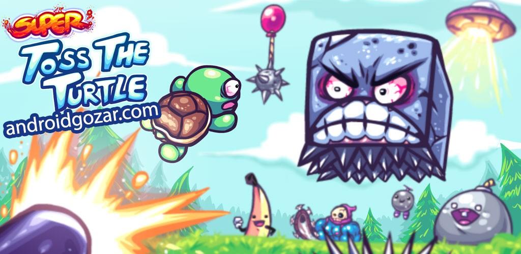 Suрer Toss The Turtle 1.170.1 دانلود بازی جذاب پرتاب لاک پشت اندروید + مود