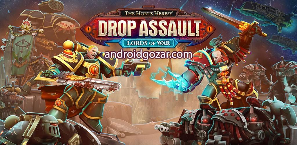 The Horus Heresy: Drop Assault 2.1.1 دانلود بازی ارتداد خدایان اندروید + مود
