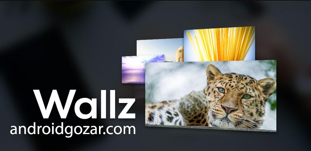 Wallz Pro: Wallpaper APP 1.3.3 والپیپر و تصویر پس زمینه اندروید