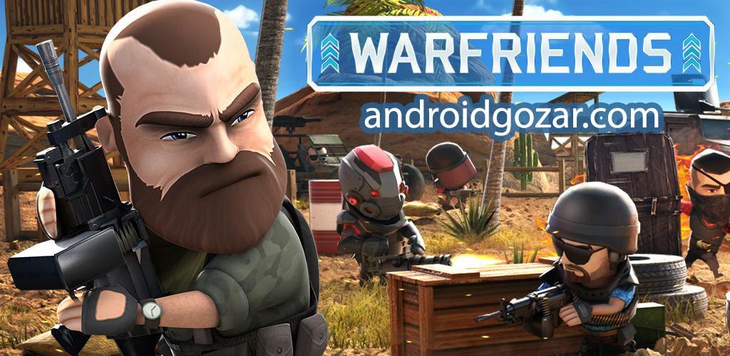 WarFriends 1.2.0 دانلود بازی اکشن دوستان جنگ اندروید + مود + دیتا
