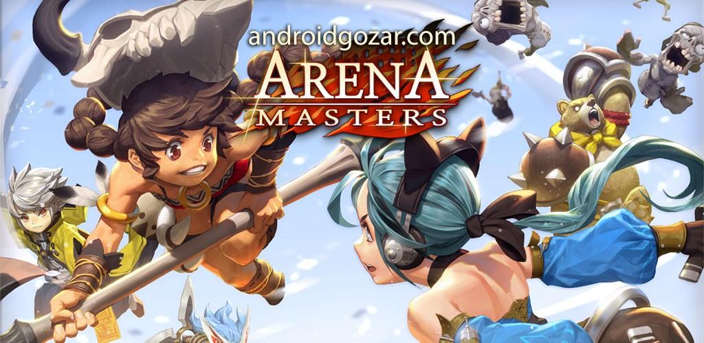 Arena Masters 1.28.109.Live دانلود بازی اکشن استادان میدان جنگ اندروید