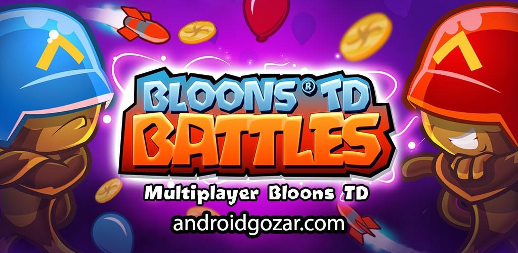Bloons TD Battles 4.1.1 دانلود بازی نبردهای دفاع از برج اندروید + مود