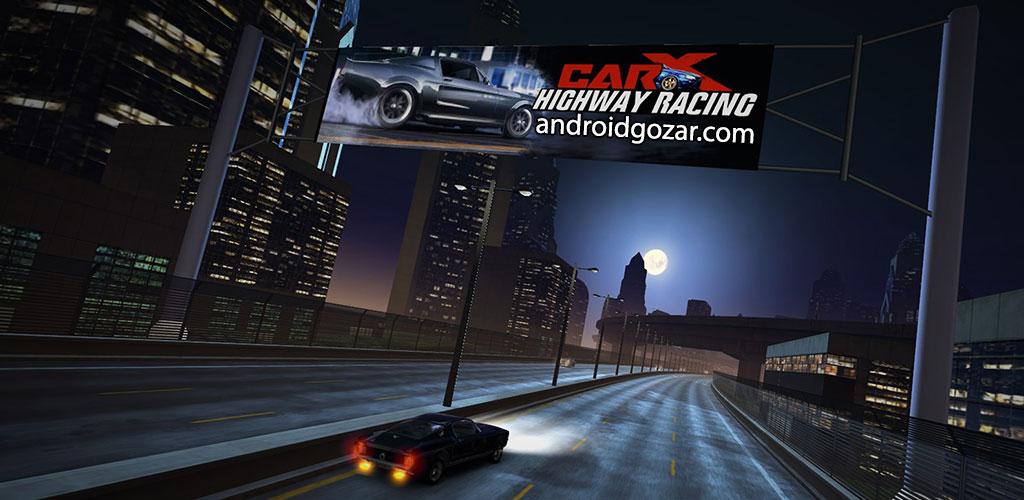 CarX Highway Racing 1.38 دانلود بازی ماشین سواری در بزرگراه اندروید + مود + دیتا