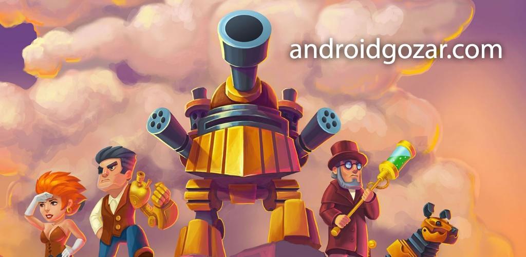 Steampunk Syndicate 1.0.4.0 دانلود بازی دفاع از برج سندیکا اندروید + مود