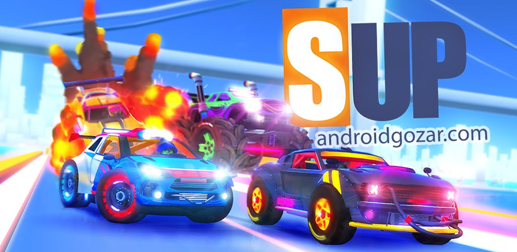 SUP Multiplayer Racing 1.1.2 دانلود بازی ماشین سواری چند نفره اندروید + مود