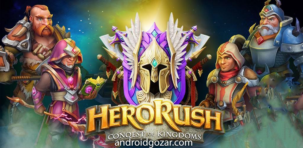 Hero Rush: Clan Wars 1.1.9 دانلود بازی استراتژی حمله قهرمان اندروید