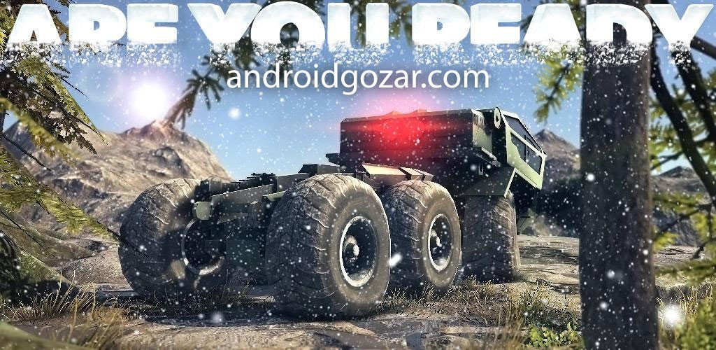 Truck Evolution : Offroad 2 1.0.6 دانلود بازی مسابقه کامیون آفرود اندروید + مود