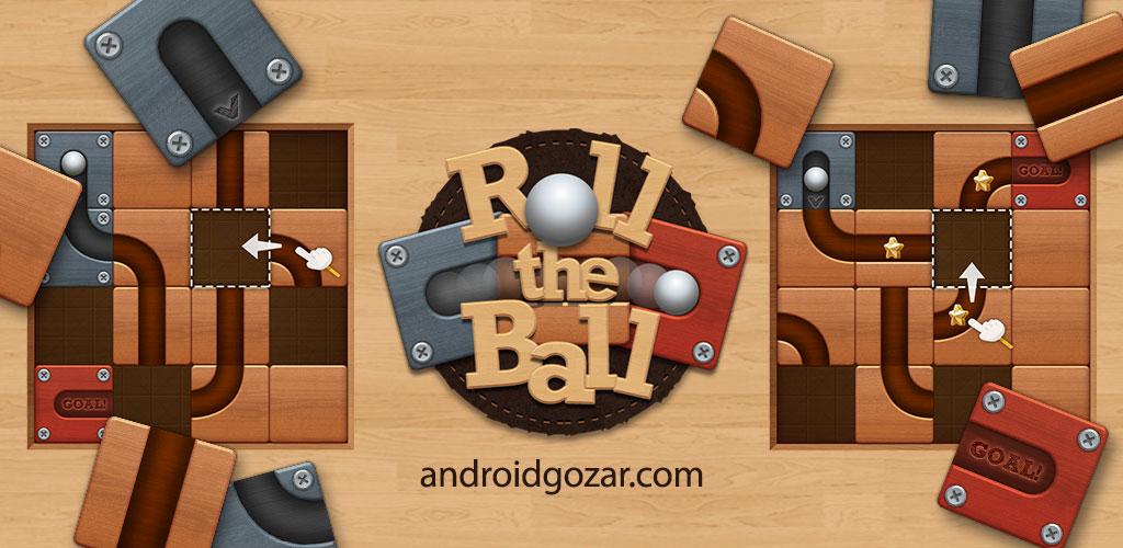 Roll the Ball – slide puzzle 1.7.5 دانلود بازی فکری اعتیادآور چرخش توپ اندروید + مود
