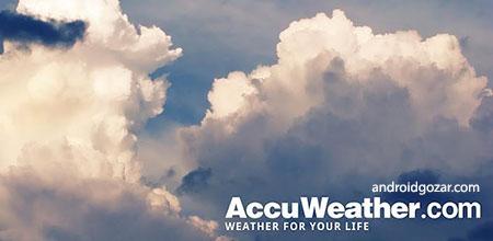 AccuWeather Platinum 4.6.2 دانلود نرم افزار آب و هوا اندروید