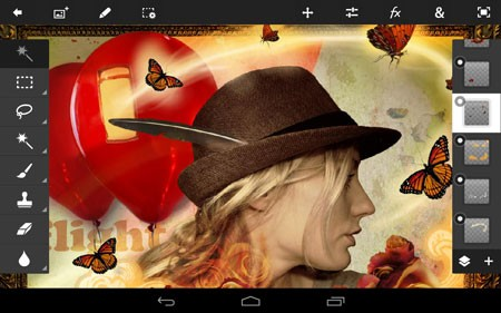 Adobe Photoshop Touch 1.7.7 دانلود نرم افزار فتوشاپ لمسی