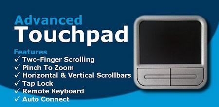 Advanced Touchpad Remote Mouse 4.2 دانلود نرم افزار تبدیل گوشی به موس و کیبورد
