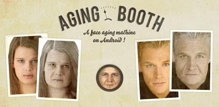 AgingBooth 2.4 دانلود نرم افزار پیر کردن چهره