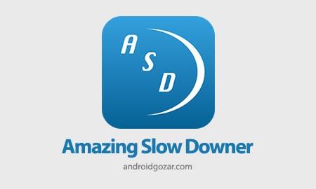 Amazing Slow Downer 1.7.2 کم کردن سرعت پخش موسیقی