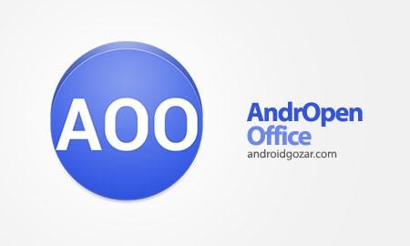 AndrOpen Office 2.5.4 دانلود نرم افزار آفیس اندروید+دیتا
