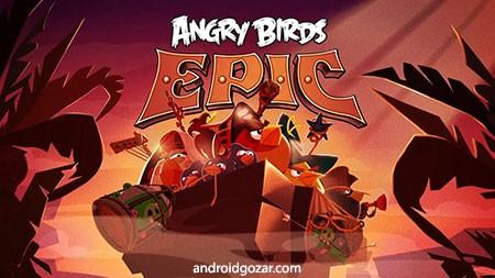 Angry Birds Epic 2.0.25241.4080 دانلود بازی حماسه پرندگان خشمگین اندروید+مود+دیتا