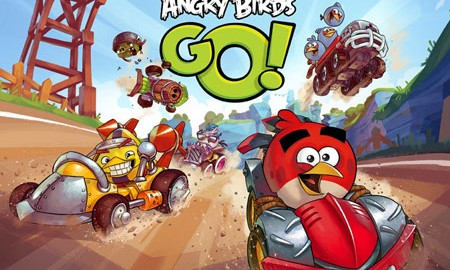 Angry Birds Go! 1.8.7 دانلود بازی مسابقات پرندگان خشمگین+دیتا+مود