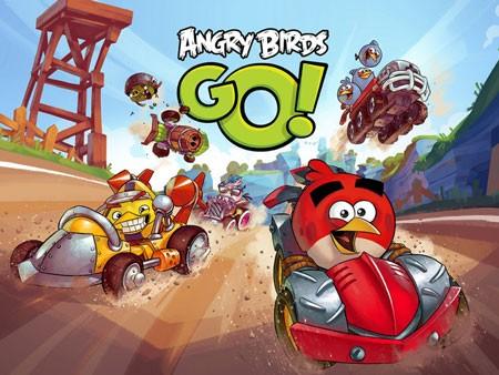 angry birds go 0 Angry Birds Go! 1.13.9 دانلود بازی مسابقات پرندگان خشمگین+مود+دیتا