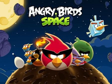 Angry Birds Space HD 2.2.9 دانلود بازی پرندگان عصبانی فضایی+مود