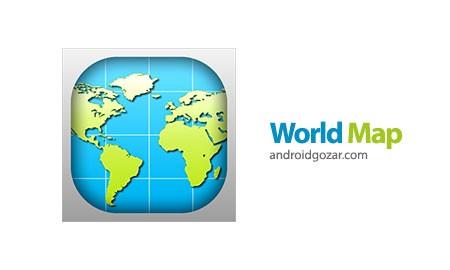 World Map 2015 2.4 دانلود نرم افزار نقشه جهان
