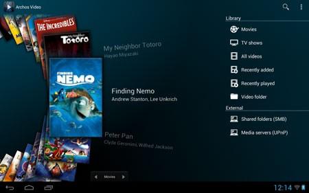 Archos Video Player 10.1 دانلود نرم افزار پخش فیلم اندروید+پلاگین ها