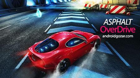 Asphalt Overdrive 1.3.1b دانلود بازی آسفالت اوردرایو+مود+دیتا