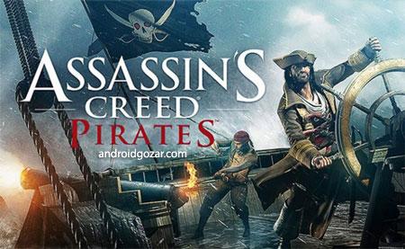 Assassin's Creed Pirates 2.9.1 دانلود بازی کیش آدمکش دزدان دریایی+مود+دیتا