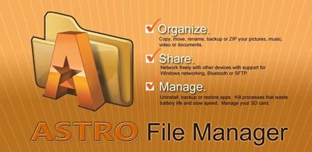 ASTRO File Manager PRO 4.8.7 دانلود نرم افزار مدیریت فایل اندروید