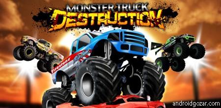 Monster Truck Destruction 2.63 دانلود بازی ماشین های غول پیکر نابود کننده+دیتا