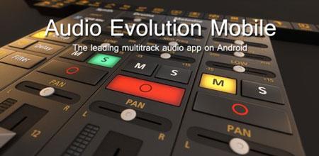 Audio Evolution Mobile Studio 4.4.7 استودیوی ضبط صدای مولتی ترک و MIDI اندروید