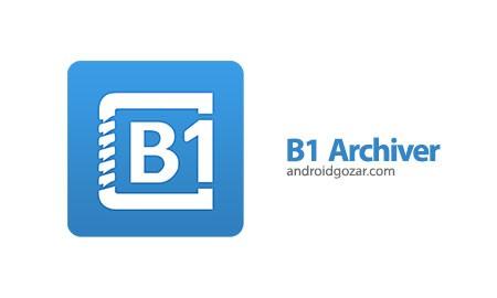 B1 Archiver zip rar unzip Pro 1.0.0006 مدیریت فایل فشرده در اندروید