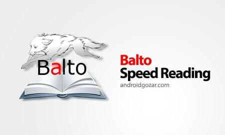 Balto Speed Reading 4.2a نرم افزار افزایش سرعت خواندن متن اندروید