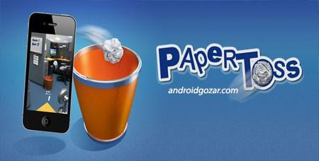 Paper Toss 1.2.5 دانلود بازی پرتاب کاغذ