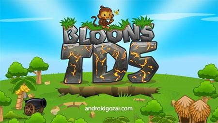 Bloons TD 5 3.5.1 دانلود بازی دفاع از قلعه اندروید + مود